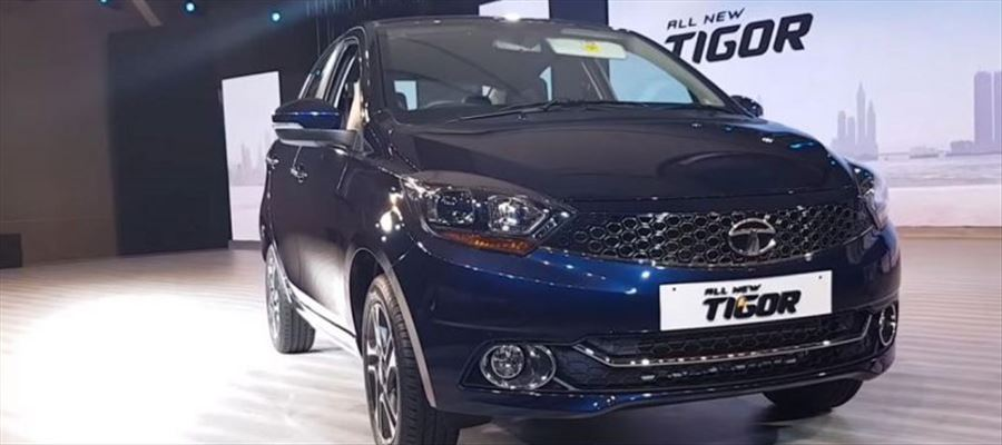 Time for arrival of another refreshed compact sedan Tata Tigor facelift