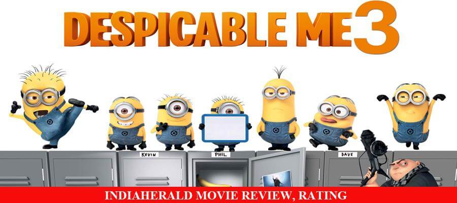 Despicable Me 3 Movie Review, Rating